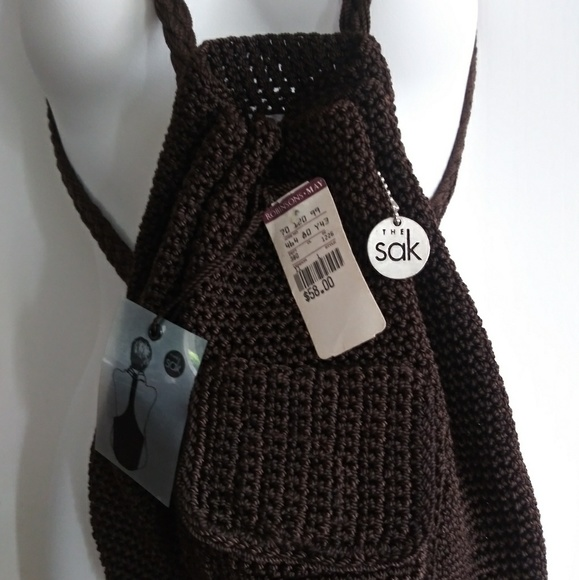 The Sak Handbags - NWT The Sak crochet backpack
